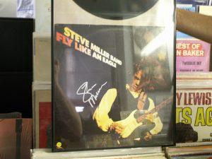 STEVE MILLER SIGNED COVER